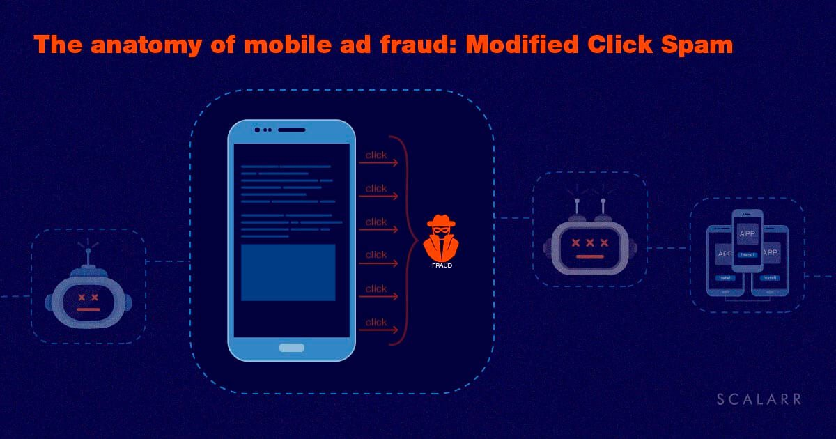 The anatomy of mobile ad fraud: Modified Click Spam