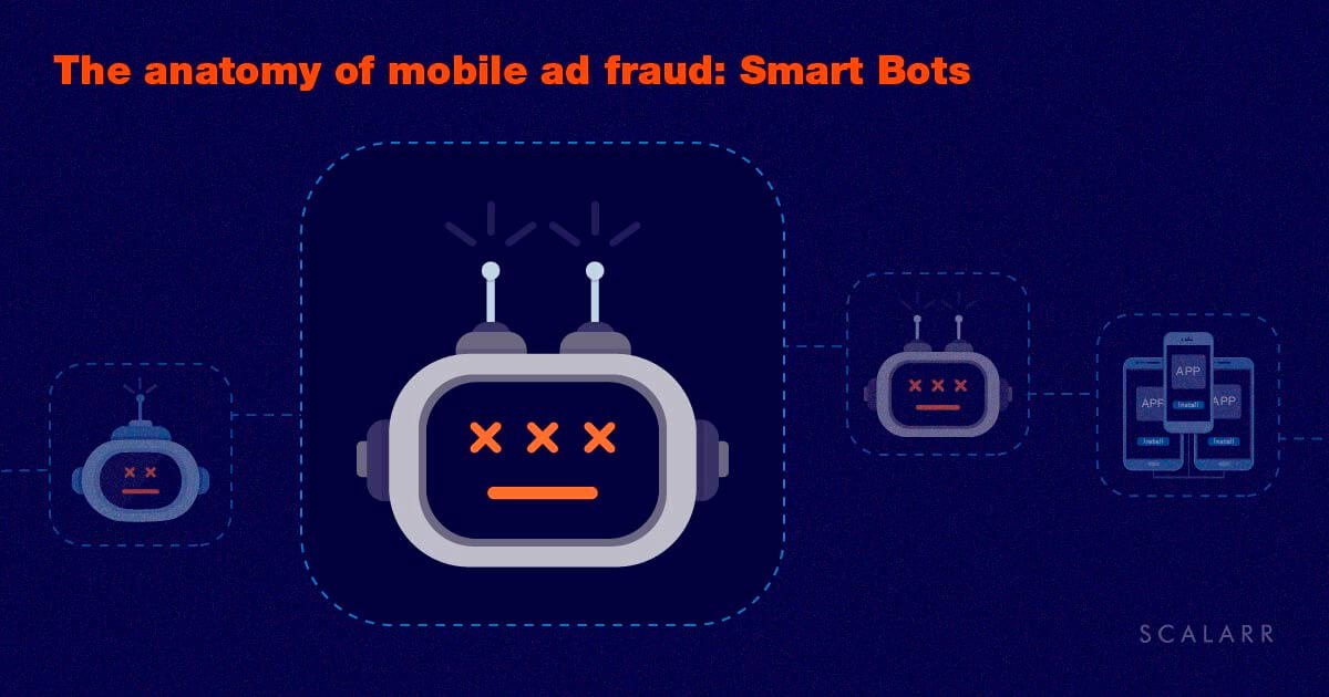 The anatomy of mobile ad fraud: Smart Bots